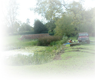 pond restoration by elc contracors